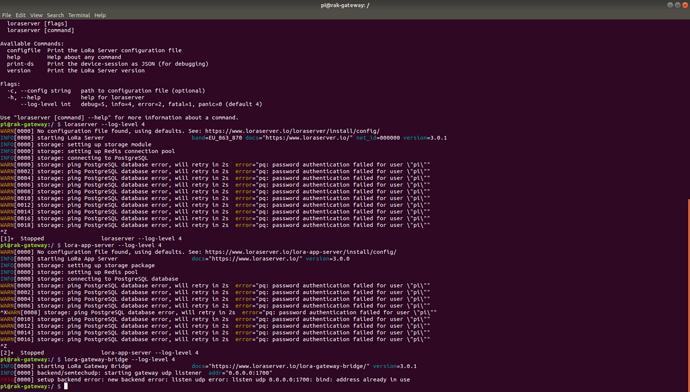 RAK2245,Lora-gateway-bridge UDP problem - LoRa Gateway